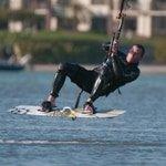 Surf kiter, Tampa Bay Florida, Jeff Wendorff Photographer