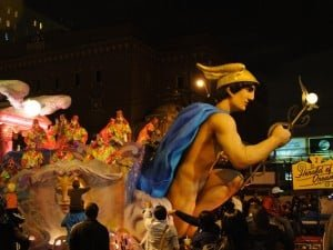 Mardi Gras Float - Krewe of Hermes photographed by Jeff Wendorff